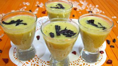 Crème de courgette en amuse-bouche - 11.1