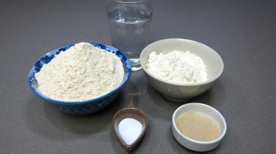 Ingrédients pour la recette : Pain de gluten
