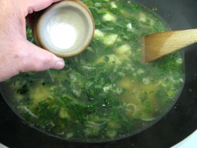 Soupe de dinde aux épis de maïs façon Chinoise - 7.1