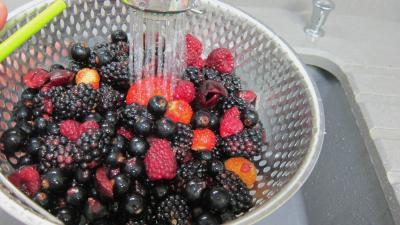 Crème anglaise aux fruits rouges - 4.1