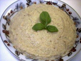 Image : Assiette de caviar d'aubergine