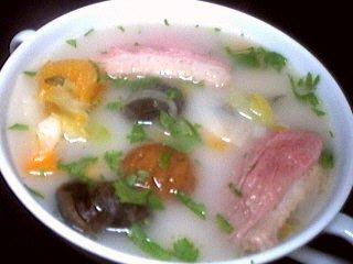 Recette Soupe de châtaignes et escargots
