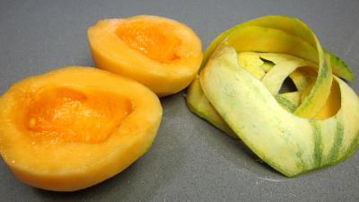 Verrines de melon au fromage blanc - 1.2