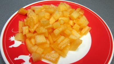 Verrines de melon au fromage blanc - 1.4