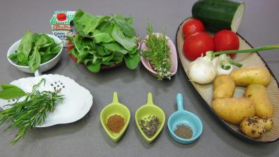 Ingrédients pour la recette : Soupe à l'oseille