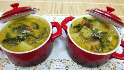 Recette Soupe  l&#39;oseille