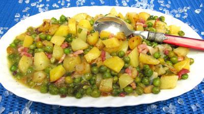 Recette Pommes de terre à la sauce blanche