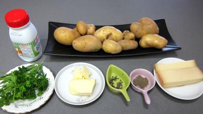 """Ingrédients pour la recette : Pommes de terre paille façon """"Connétable"""""""