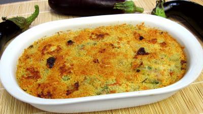 Cuisine antillaise : Plat d'aubergines à la créole
