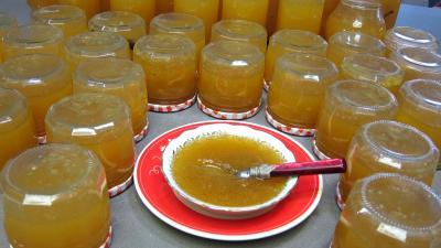 Image : Coupelle de confiture de citrouille