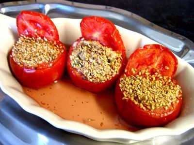 Recette Tomates farcies au tofu