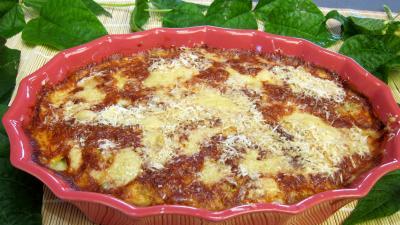 Haricots verts au four gratinés - 9.3