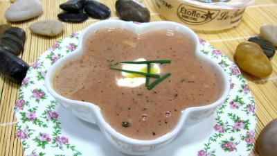 Sauce au sureau et à l'étoile du Vercors - 4.3