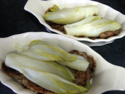 Escalopes de veau aux endives et mozzarella - 9.1