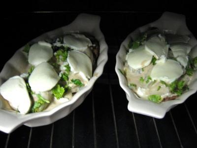 Escalopes de veau aux endives et mozzarella - 10.1
