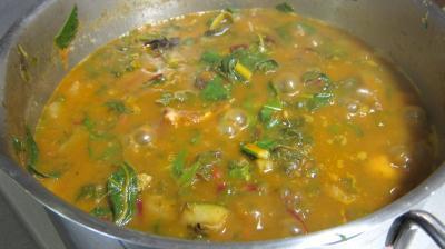 Conserve de ragoût de blettes et d'oseille au basilic - 9.2