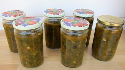 Conserve de ragoût de blettes et d'oseille au basilic - 9.4