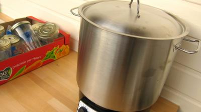 Conserve de ragoût de blettes et d'oseille au basilic - 11.2
