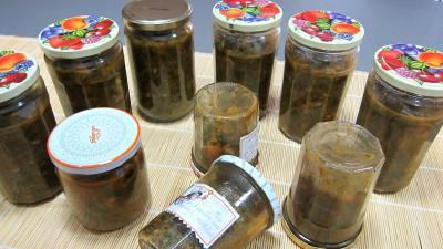 Conserve de ragoût de blettes et d'oseille au basilic - 11.4