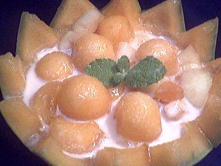 Recette Melons en blanquette