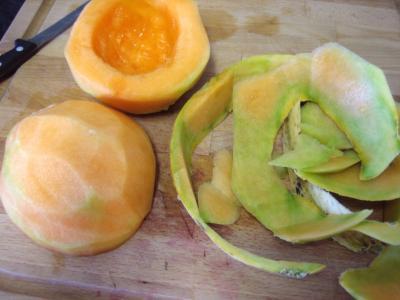 Salade de melon meringuée - 4.4
