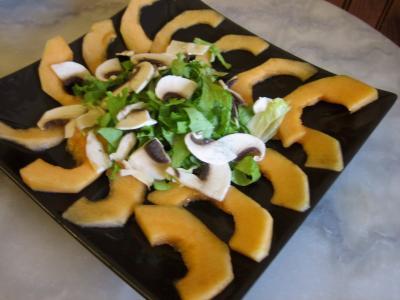 Salade de melon aux graines de tournesol - 6.1