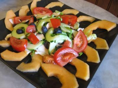 Salade de melon aux graines de tournesol - 6.3