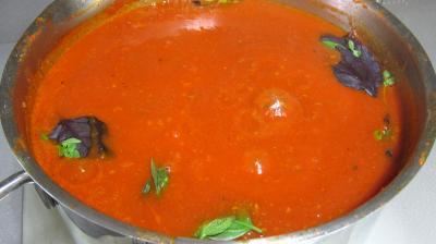 Conserve de sauce tomate à la bolognaise - 9.1