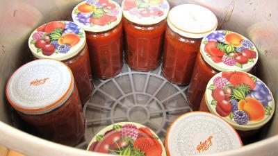 Conserve de sauce tomate à la bolognaise - 10.1