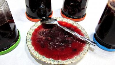 Recette Confiture de raisins