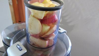 Gelée de pommes à la rhubarbe - 3.2