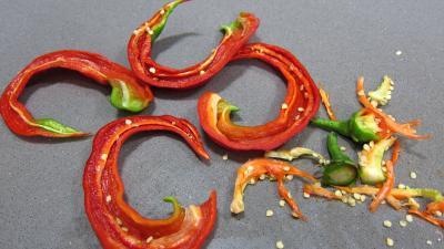 Tarte aux courgettes et piment doux - 1.2