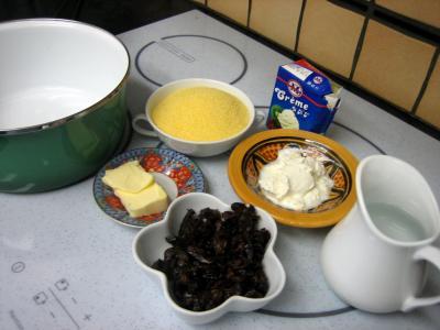 Magret au caramel et aux amandes et sa polenta aux pruneaux - 6.1