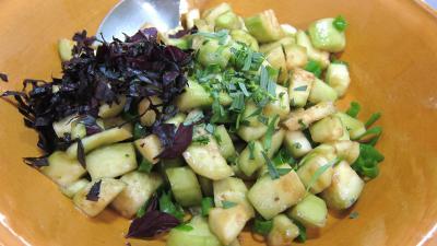 Aubergines crues en salade - 5.3