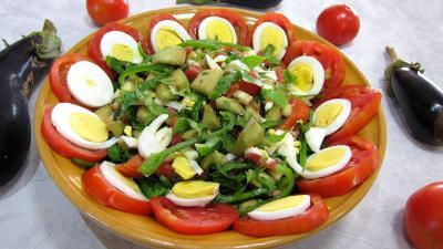 Aubergines crues en salade - 6.1
