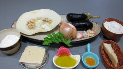 Ingrédients pour la recette : Keftas au tofu et au pâtisson revisités