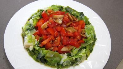 Crottins de chèvre en salade - 8.1