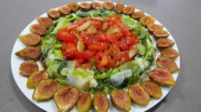 Crottins de chèvre en salade - 9.3