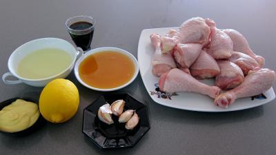 Ingrédients pour la recette : Manchons et pilons de poulet façon chinoise