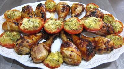 Cuisine chinoise : Assiette de manchons de poulet façon chinoise