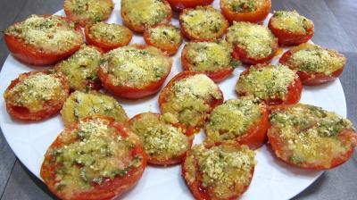 Recette Tomates à la Provençale