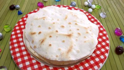 Recette Tortillas de blé ou galettes mexicaines