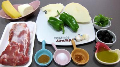 Ingrédients pour la recette : Quesadillas au filet de porc revisités