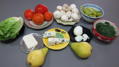 Ingrédients pour la recette : Bettes en salade