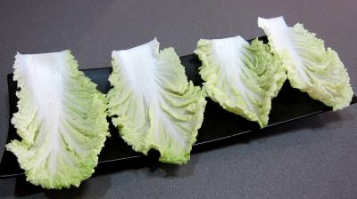 Barquettes de chou chinois (pe-tsaï) - 4.2