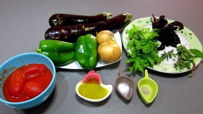 Ingrédients pour la recette : Aubergines à la mexicaine revisitées