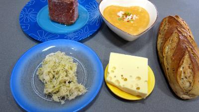 Ingrédients pour la recette : Reubens et ses tartines