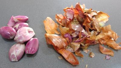 Fondue de poireaux aux oeufs fantômes - 2.3