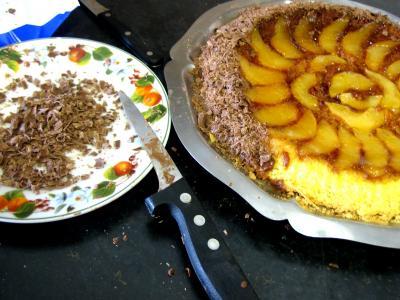 Gâteau aux poires et sa crème au Grand Marnier - 11.1