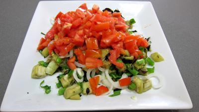 Aubergines en salade au sésame - 5.4